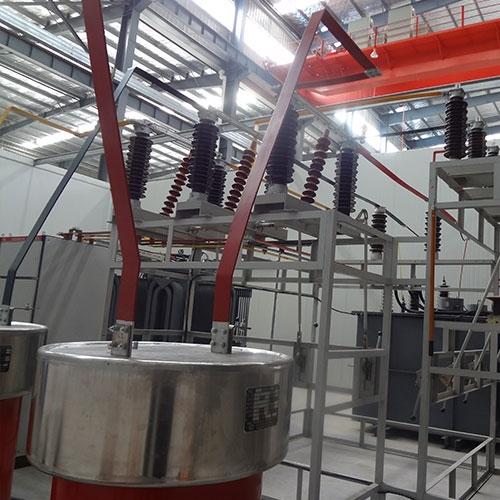 湖北新昇220kV变压器试验台