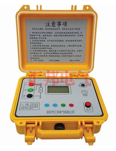 HB5805高压数字兆欧表